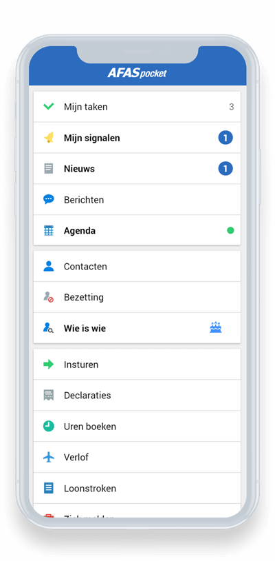 AFAS Pocket App